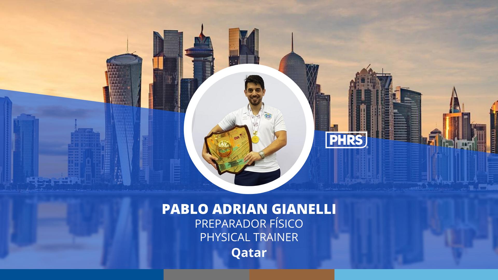 Experiences | Pablo Adrian Gianelli