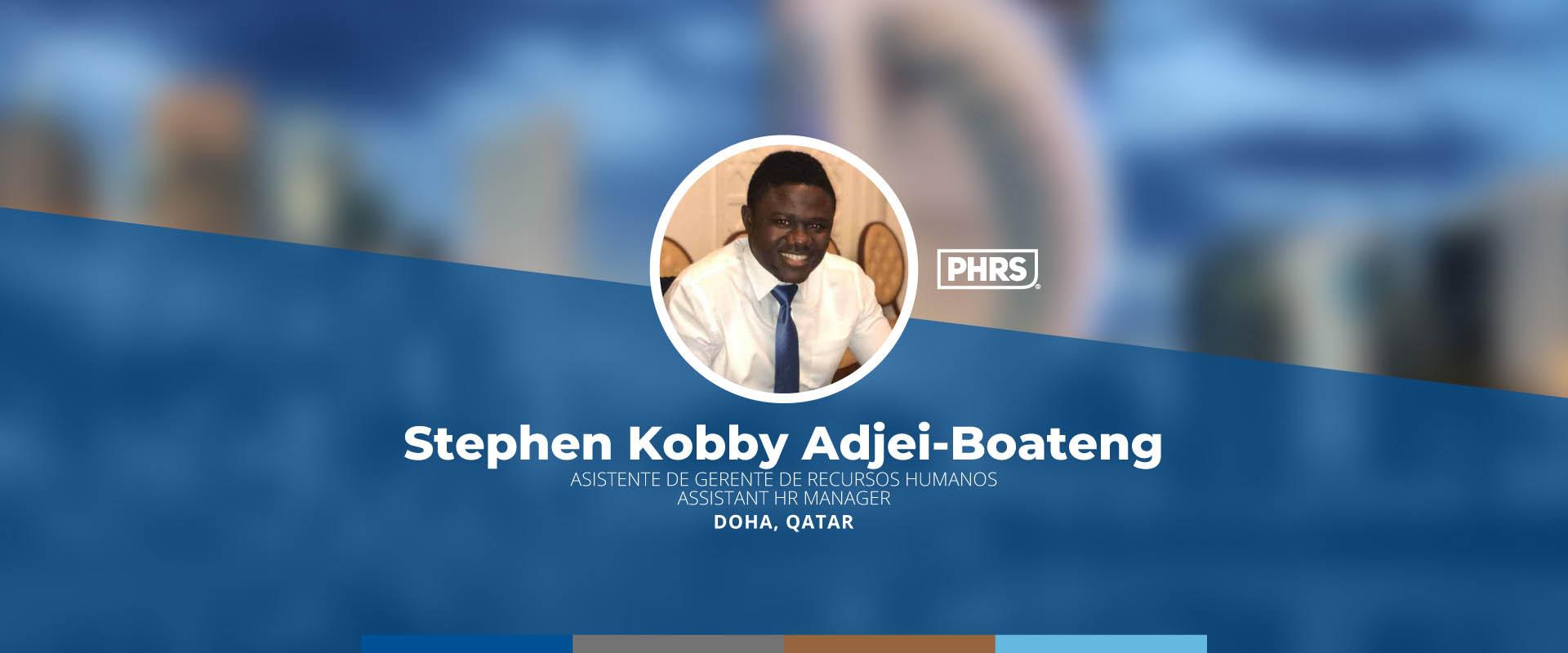 Experiences | Stephen Kobby Adjei-Boateng